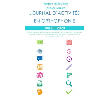 Journal d'activités en orthophonie