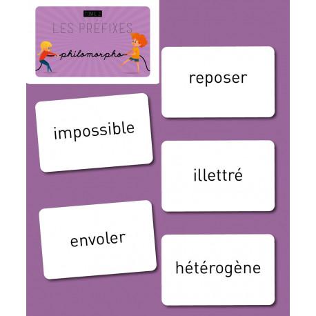 Philomorpho - Les préfixes