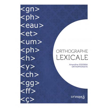 Orthographe lexicale