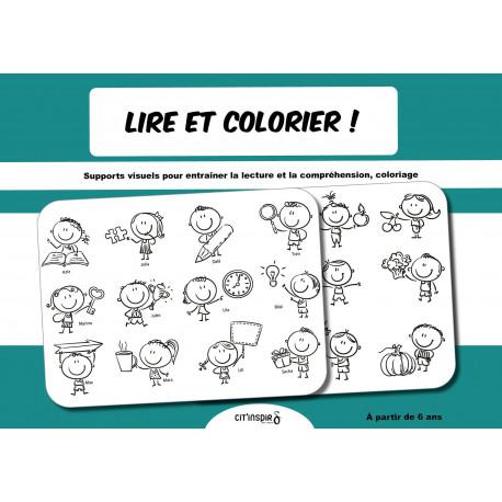 Lire et colorier