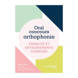 Oral concours orthophonie